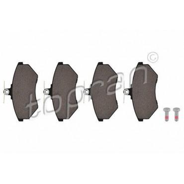 kit de plaquettes de frein avant 80 A4 Cordoba Ibiza Inca Caddy Jetta 357698151B