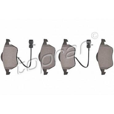 kit de plaquettes de frein avant Audi 100 A6 4A5 4A2 4A0698151 4A0698151C