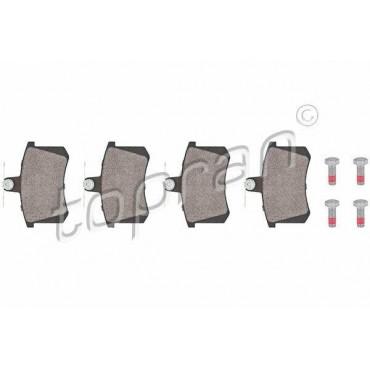 kit de plaquettes de frein arrière Audi 100 4A5 80 8C5 A4 8D5 A6 4A5 4D0698451F