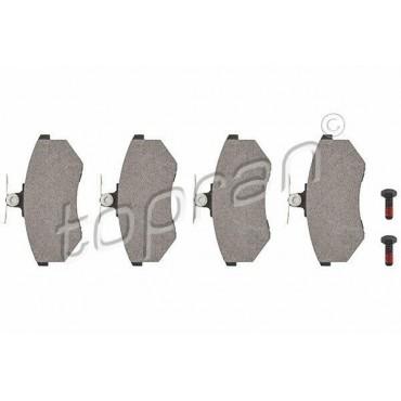 kit de plaquettes de frein avant Audi 80 8C5 8C2 A4 8D5 8D2 8A0698151C
