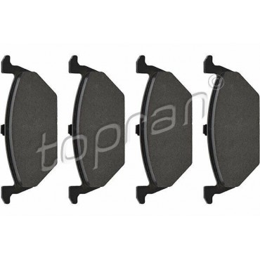 kit de plaquettes de frein avant A1 A3 Cordoba Ibiza Citigo Beetle Up 1J0698151J