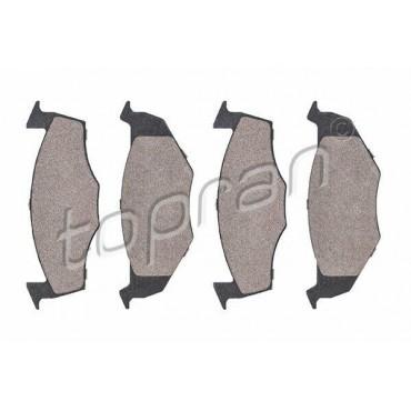 kit de plaquettes de frein avant Arosa 6H Fabia 6Y3 Fox Lupo Polo 9N4 6N0698151C