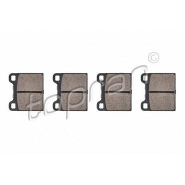 kit de plaquettes de frein avant Audi 80 Golf I Jetta I Passat Polo 861698151A