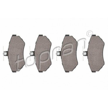 kit de plaquettes de frein avant Arosa Cordoba Ibiza Caddy Golf Jetta 6N0698151A