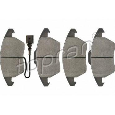 kit de plaquettes de frein avant Audi A1 A3 TT Altea Ibiza Fabia Rapid 5K0698151