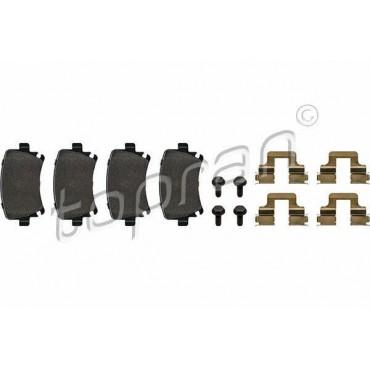 kit de plaquettes de frein arrière Audi A4 8ED 8EC A6 4F5 4F2 8E0698451J