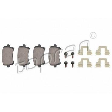 kit de plaquettes de frein arrière A6 Q3 Alhambra CC Passat Tiguan 3AA698451