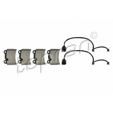 kit de plaquettes de frein arrière VW Touareg 7L6 7LA 11/02-11/06 7L6698451B