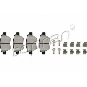 kit de plaquettes de frein arrière A1 A3 Altea Leon Yeti Beetle Caddy 5K0698451C
