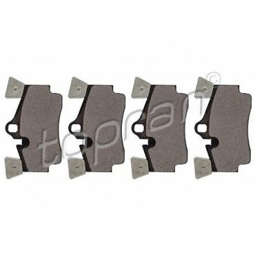 kit de plaquettes de frein arrière Audi Q7 4LB PORSCHE Cayenne 9P3-9P6 7L5698451