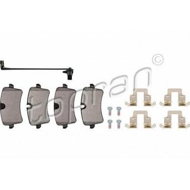 kit de plaquettes de frein arrière Audi A6 4G5 4GD 4G2 4GC A7 4GA 4GF 4G0698451