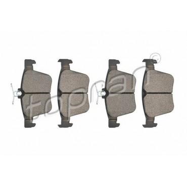 kit de plaquettes de frein arrière Audi A3 TT Leon Kodiaq Arteon Golf 5Q0698451P
