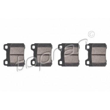 kit de plaquettes de frein arrière Astra F Calibra Kadett E Vectra A 90297537