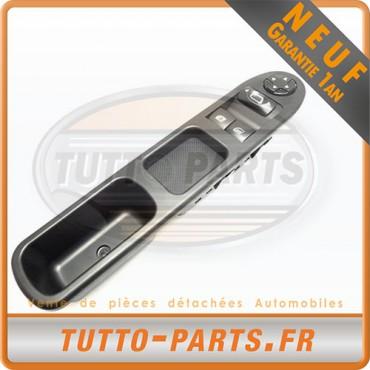 Bouton Lève Vitre Electrique Peugeot 207 Citroen C3 Picasso - 6554.QC