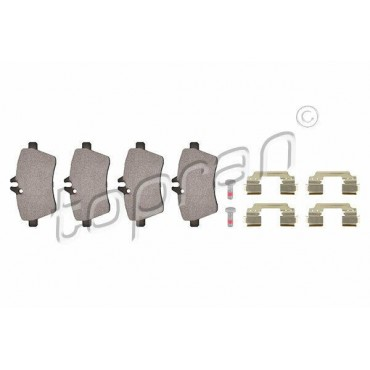 kit de plaquettes de frein avant MERCEDES Classe A W169 B W245 1694200720