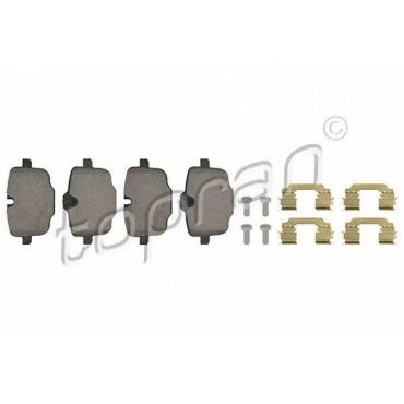kit de plaquettes de frein arrière BMW Série 5 F10 F11 6 F06 F12 F13 34216775346