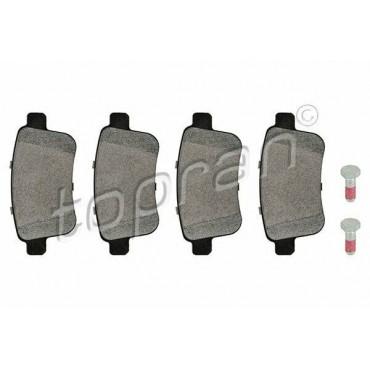 Kit de plaquettes de frein arrière Mercedes Citan Renault Kangoo 4154210410