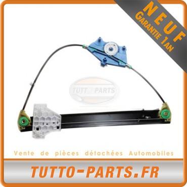 Mécanisme Lève Vitre Arrière Droit Audi A4 S4 - 2001 à 2004