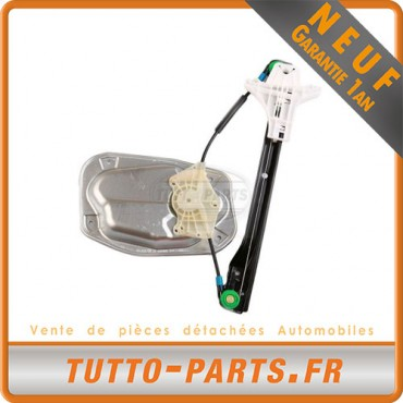 Mécanisme Lève Vitre Arrière Gauche Golf 5 Jetta 3 Passat B6