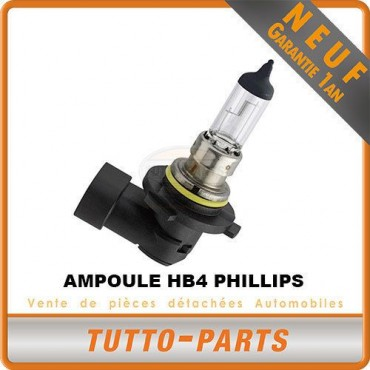 AMPOULE HB4 PHILLIPS NEUF 55W - 9006PRC1