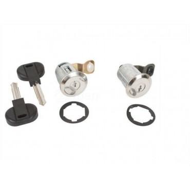 2 Barillets de porte + 2 clés CITROEN PEUGEOT Berlingo Xsara Partner 9170.CW