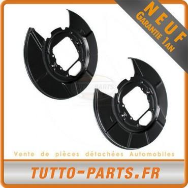 2 Protections Disque De Frein Arrière Droit + Gauche BMW X5 E53 - 34216750385