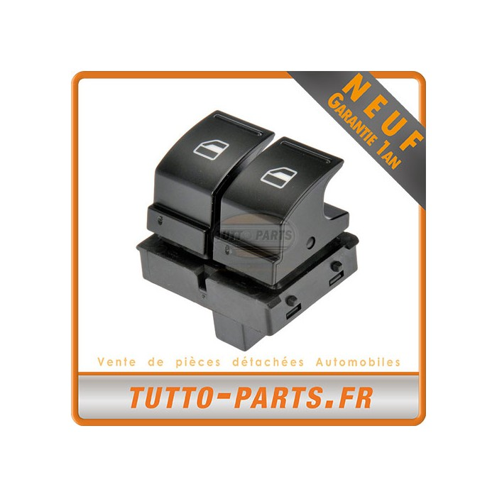 Bouton Lève Vitre Conducteur Seat Vw Golf Multivan Polo Passat Touran