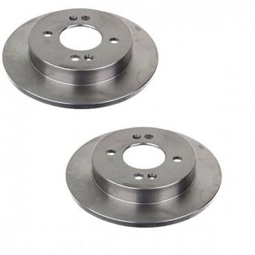 Disque de frein arrière X2 HYUNDAI i10 KIA Picanto 584110X500 58411-07300