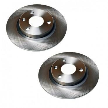 Disque de frein avant X2 CITROEN AX 86 Saxo 96 PEUGEOT 106 I II 169004 4249C5