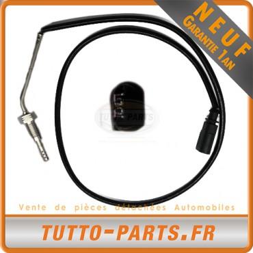 Sonde Température Gaz dEchappement Seat Ibiza IV Skoda Fabia II Roomster VW Polo 1.2TDI'