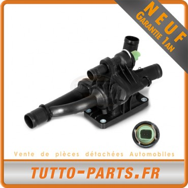 Boitier + Thermostat d'Eau Citroen Peugeot 1.6 2.0 HDi Fiat Ford Volvo