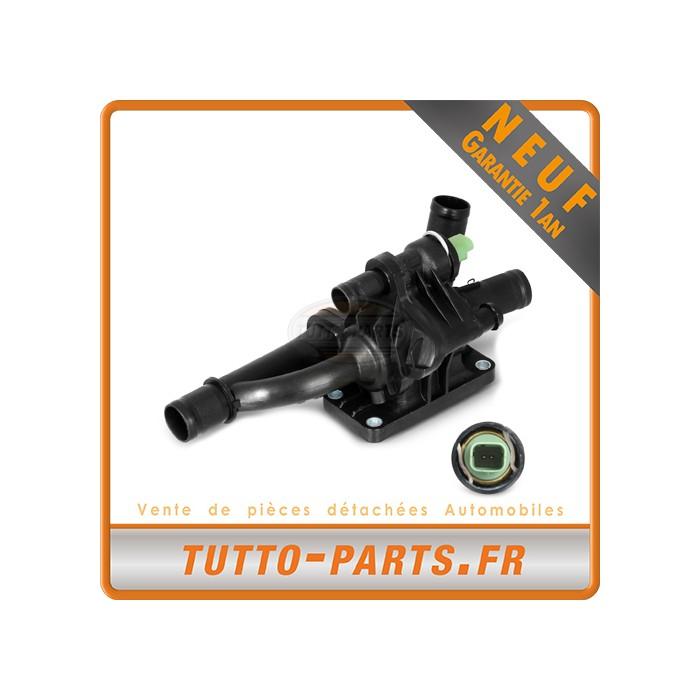 Boitier + Thermostat d'Eau Citroen Peugeot 1.6 2.0 HDi Fiat Ford Volvo