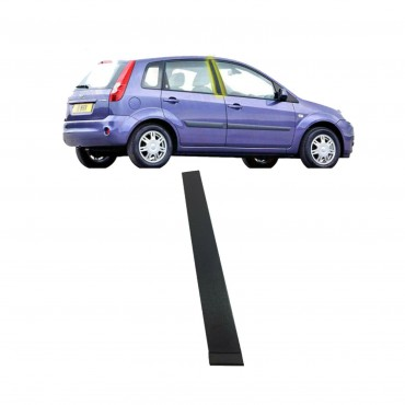 Baguette bande protectrice porte droite FORD Fiesta 01-08 2S61A25458AN 1473675