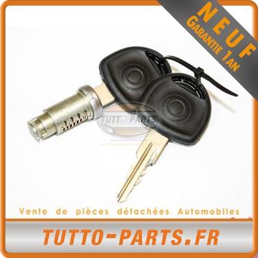 Barillet Serrure d'allumage + Clés Opel Corsa A Kadett E
