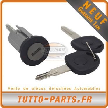 Barillet Serrure d'allumage + Clés Opel Astra F Combo Corsa Kadett E