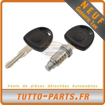 Barillet Serrure d'allumage + Clés Opel Astra Combo Corsa Tigra