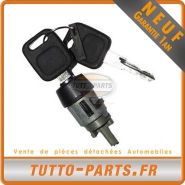 Barillet Serrure d'allumage + Clés Audi 80 90 100 - 1986 à 1994