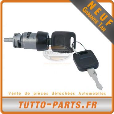 Barillet Serrure d'allumage + Clés Audi 80 90 100 - 1972 à 1991