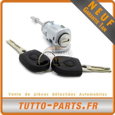 Barillet Serrure d'allumage + Clés VW Lupo Passat 1996 à 2005