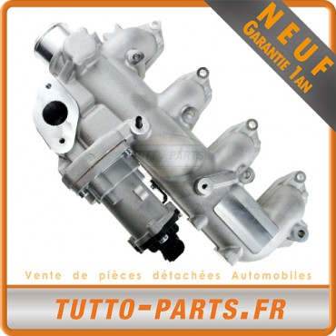 Vanne EGR + Collecteur d'Admission Ford C-Max Focus Galaxy Mondeo S-Max Transit