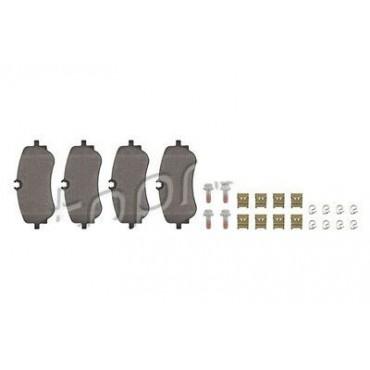 Kit plaquette de freins arrière VW Amarok 2HA 2HB Crafter 2H6698451 2H6698451A
