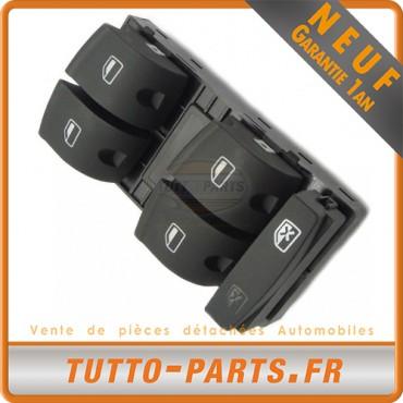 Commande Bouton Lève Vitre Audi A3 03-13 - A4 04-11 - Q7 06-15