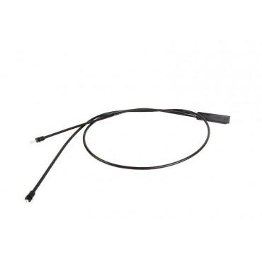Cable ouverture capot moteur inférieur Pour BMW serie 5 E60 E61 51237184454