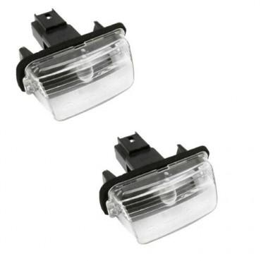 x2 Feu éclairage de plaque LED Pour C3 XSARA BERLINGO 206 307 306 407 6340.A3