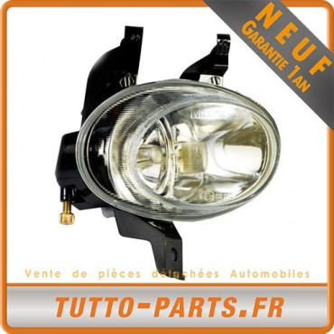 Phare Anti Brouillard Avant Droit pour PEUGEOT 206 - Berline/Break