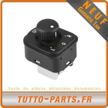 Commande Bouton Réglage rétroviseur pour SEAT Alhambra VW CC GOLF Jetta