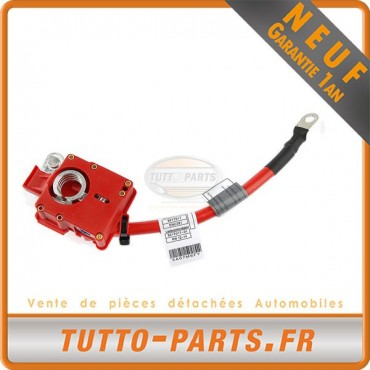 Câble Batterie Plus Positif Rouge pour BMW 1 E81/E87