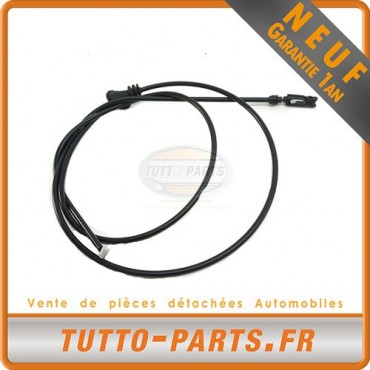 Câble ouverture capot pour MERCEDES 190 - W201
