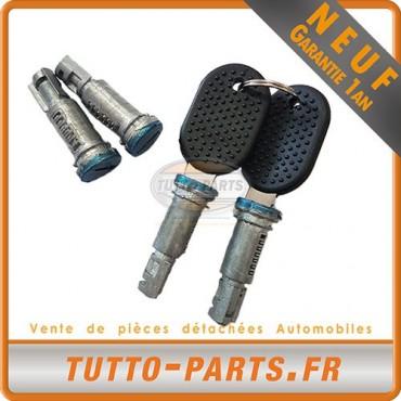 4 Barillets De Porte + 2 Cles Iveco Daily De 1989 a 1999 500328054 500328053