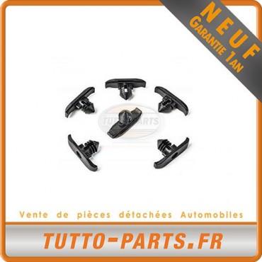 x10 agrafe Clips fixation joint capot pour Audi Seat Skoda VW